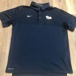 Nike Dry-Fit Script Pitt Collegiate Shirt.